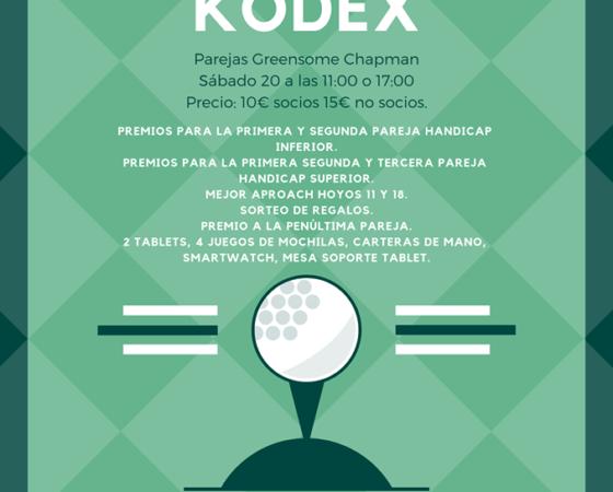 XIII Torneo Kodex