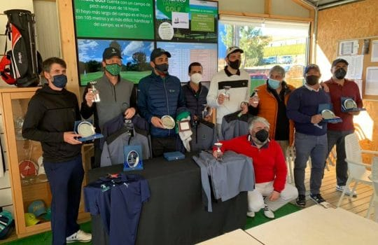 Final Liga de Invierno 2020 Tambre Golf. Cuadro de honor