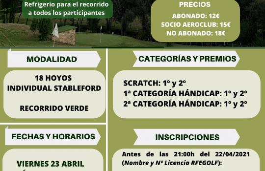 I Torneo Cadena Cope en Tambre Golf