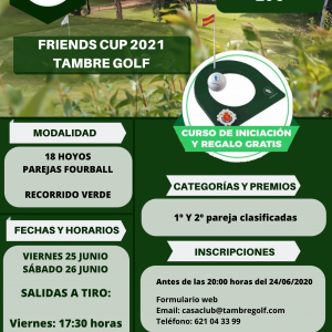 FRIENDS CUP 2021