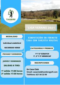 Liga Verano 2021 Tambre Golf